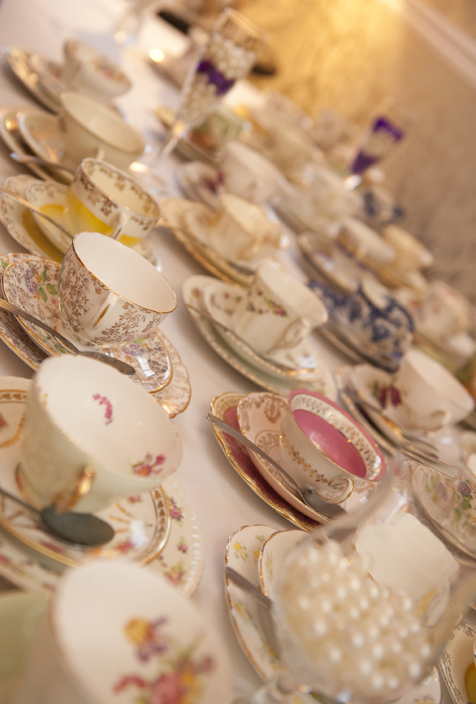 Teacups at Hinton Admiral