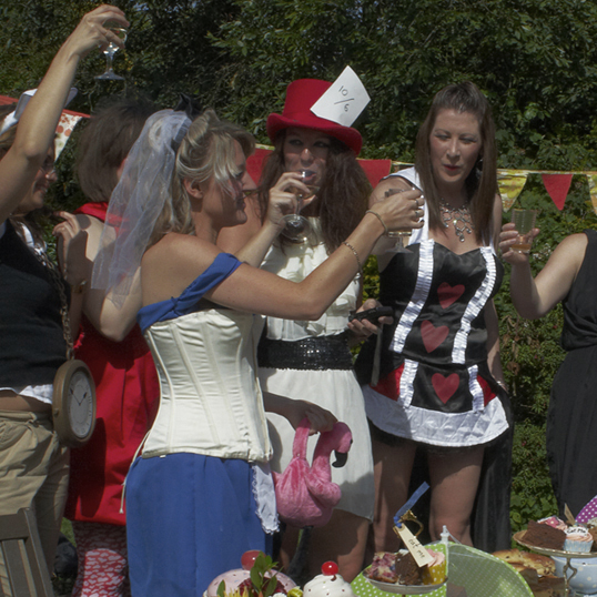 Alice in Wonderland Hen Party