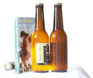 Bottles of ginger beer and famous five novels
