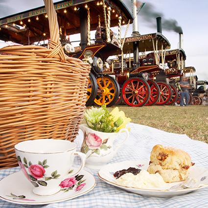 Our steam fair picnic