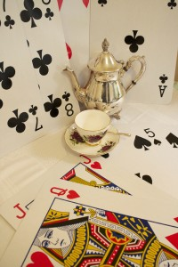 oversize playing cards for hire