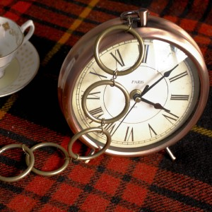 The rabbit's pocket watch