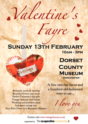 Valentines Fayre Poster