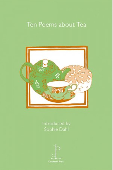 cover of the pamphlet ten poems about tea