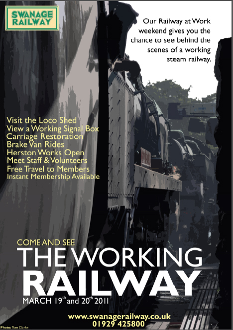 Railway at Work poster