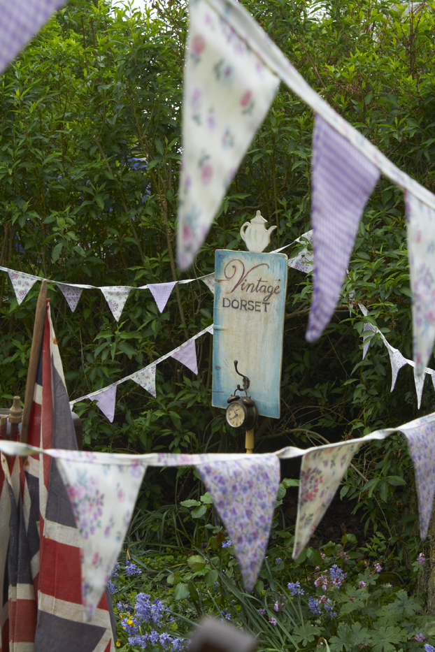 Vintage Dorset bunting for hire