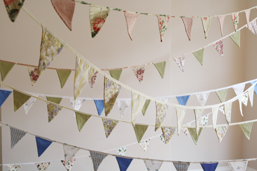 Vintage Bunting for Hire