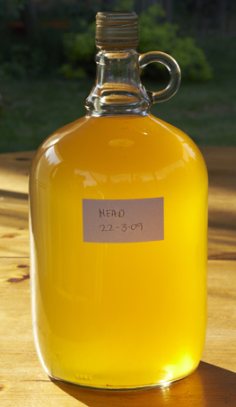 a demijohn of mead