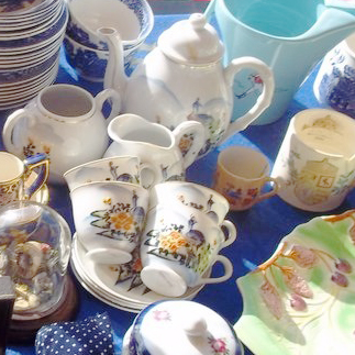 Cups and crockery