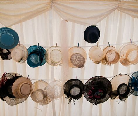 Hat saver for wedding hats