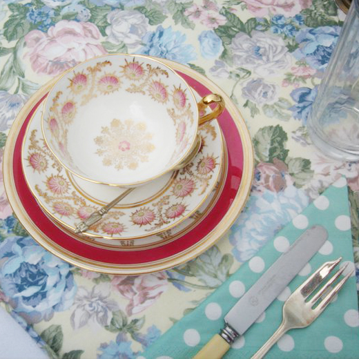 vintage teacup for hire