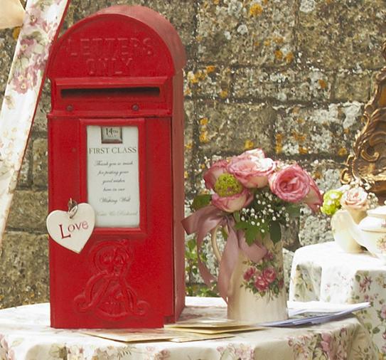 Postbox wishing well