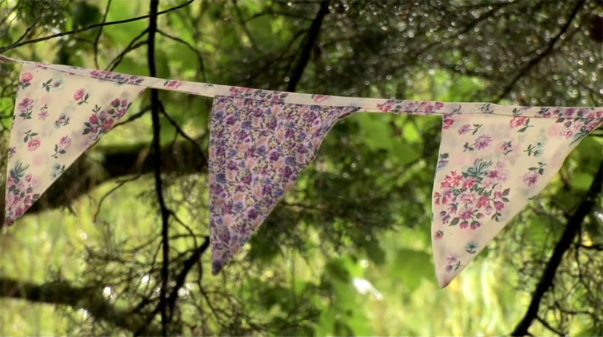 vintage bunting for hire dorset