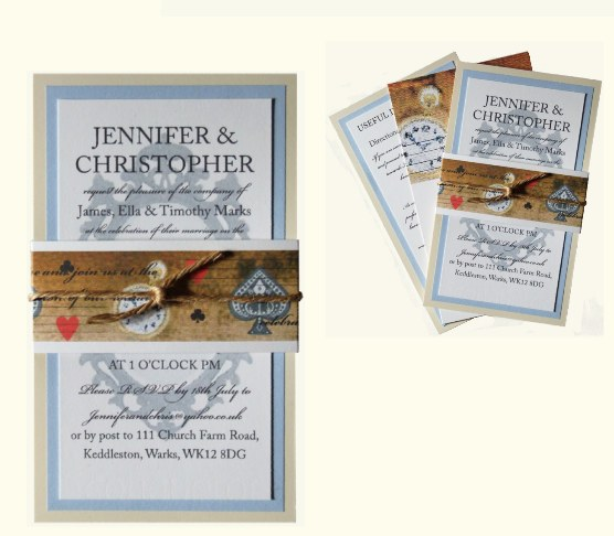 knots&kisses wedding stationery