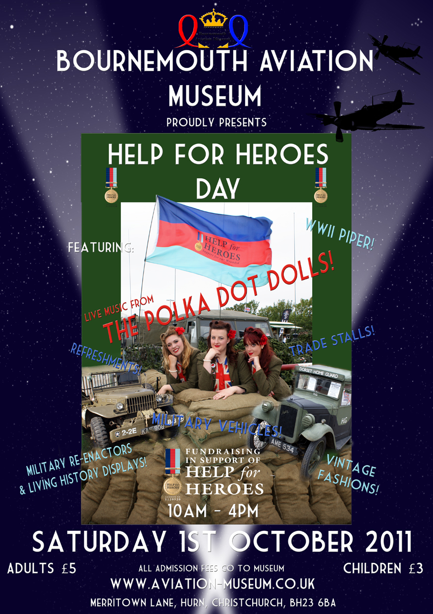 Help For Heroes poster