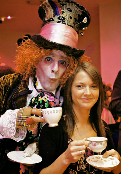 Mad Hatter's ball