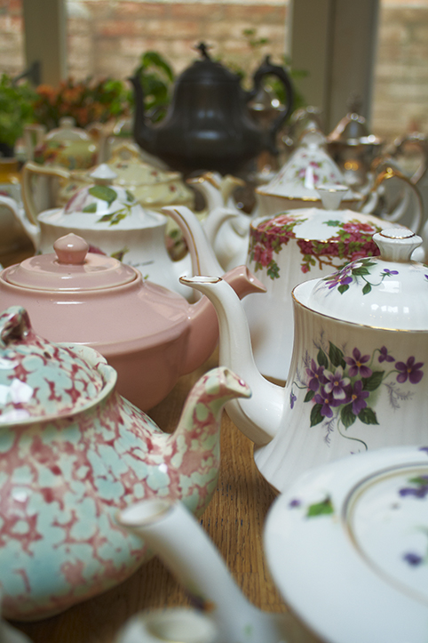 teapots for tea!