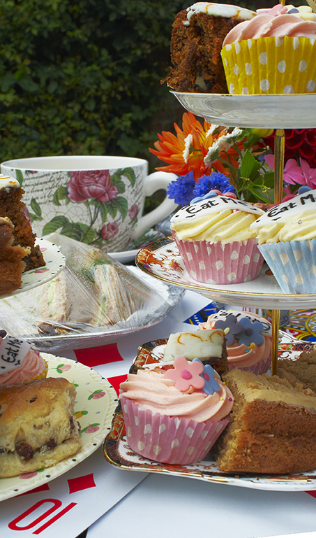 Vintage Mad Hatter Tea Party