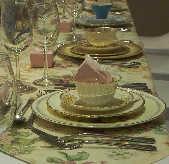 Vintage Dorset table dressing