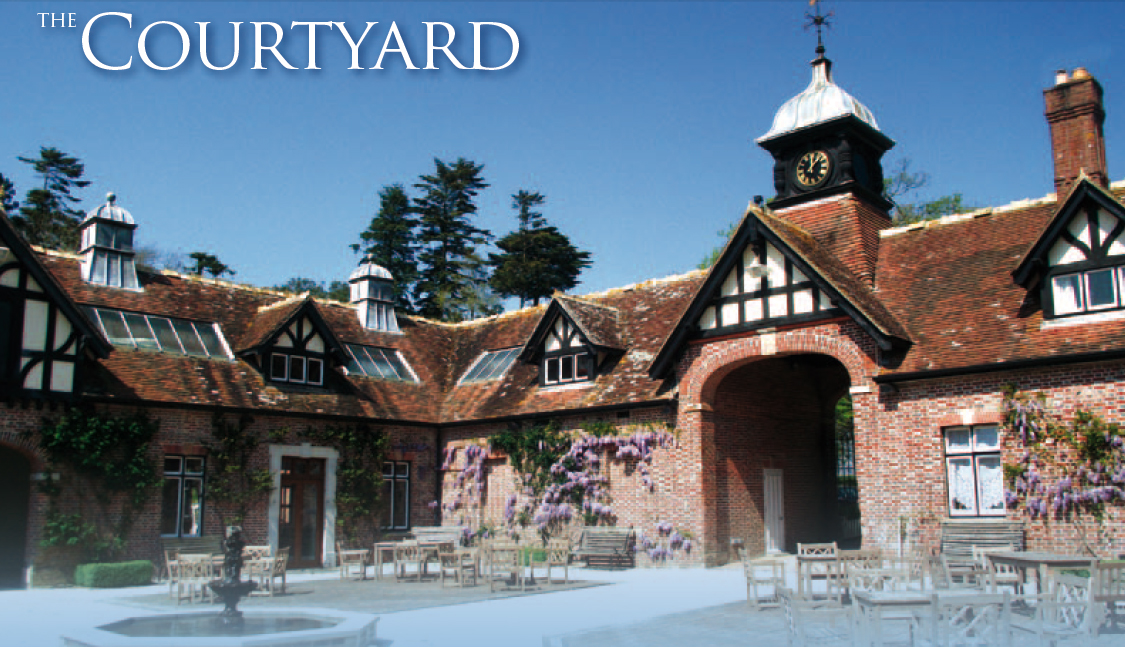 The Courtyard, Lulworth Castle