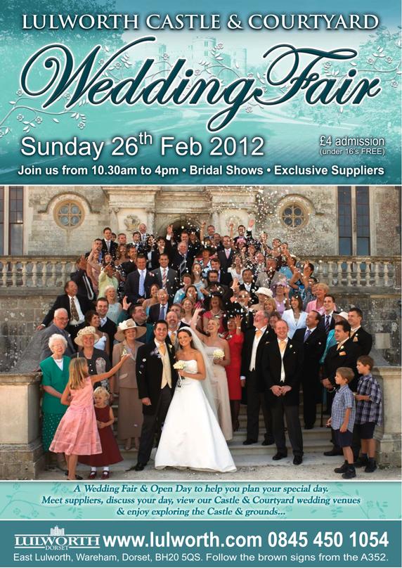 lulworth castle dorset wedding fair 2012