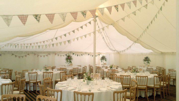 Wedding day vintage bunting