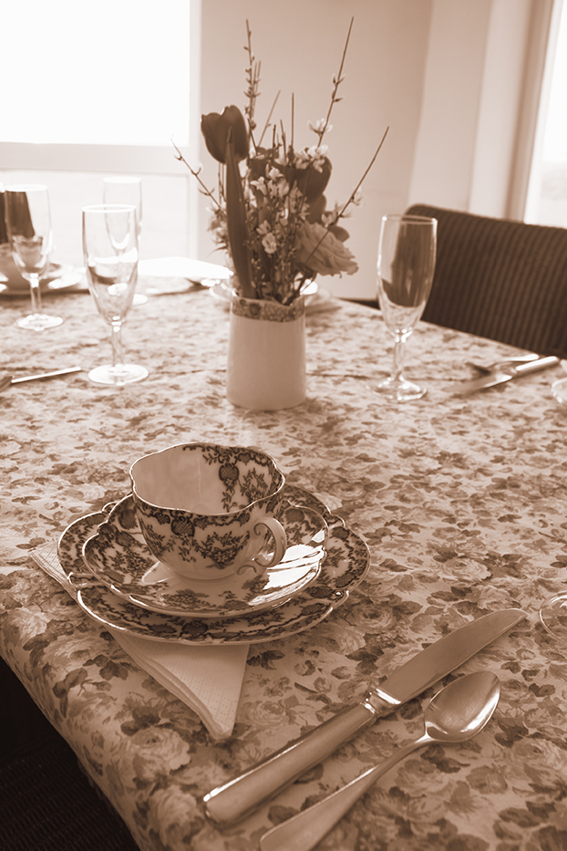 Vintage tea Dorset