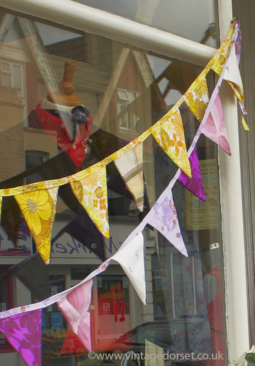 retro bunting for hire vintage dorset