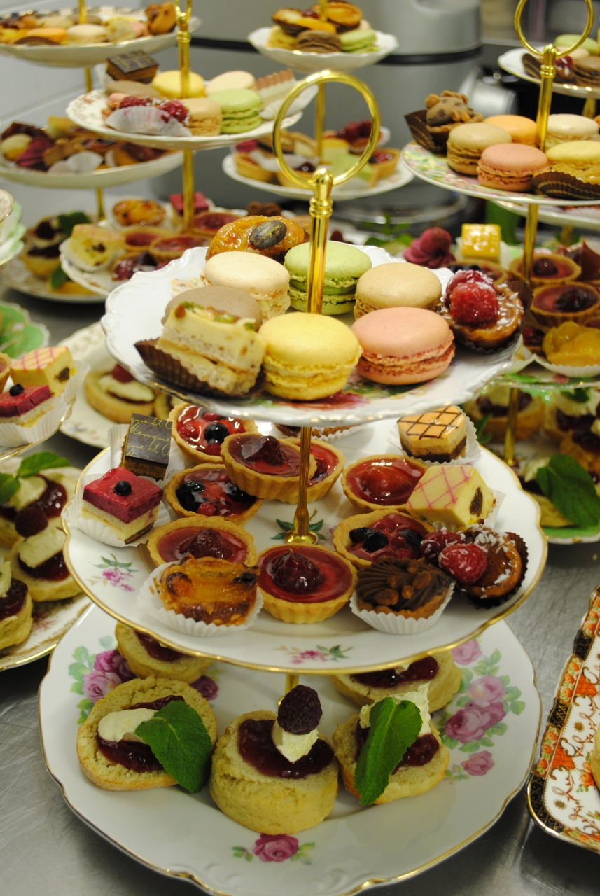 Vintage cake stands Dorset