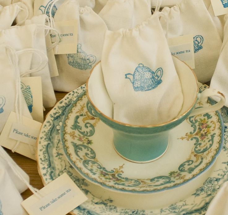 tea favours vintage dorset
