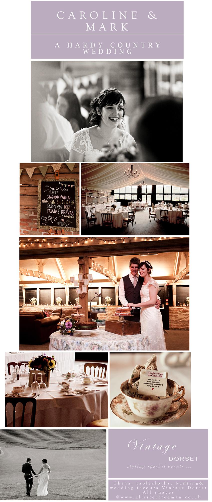 Hardy style wedding