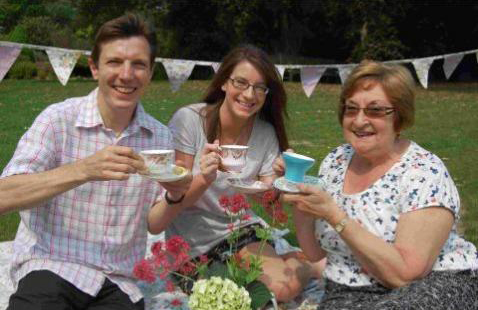 volunteer vintage tea Dorset
