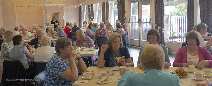 Romsey Quilters afternoon tea