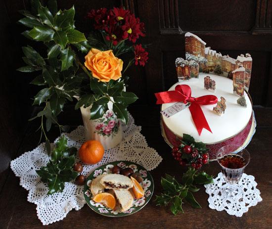 Vintage Dorset Christmas cake