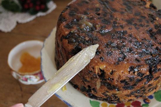 Putting jam on the cake