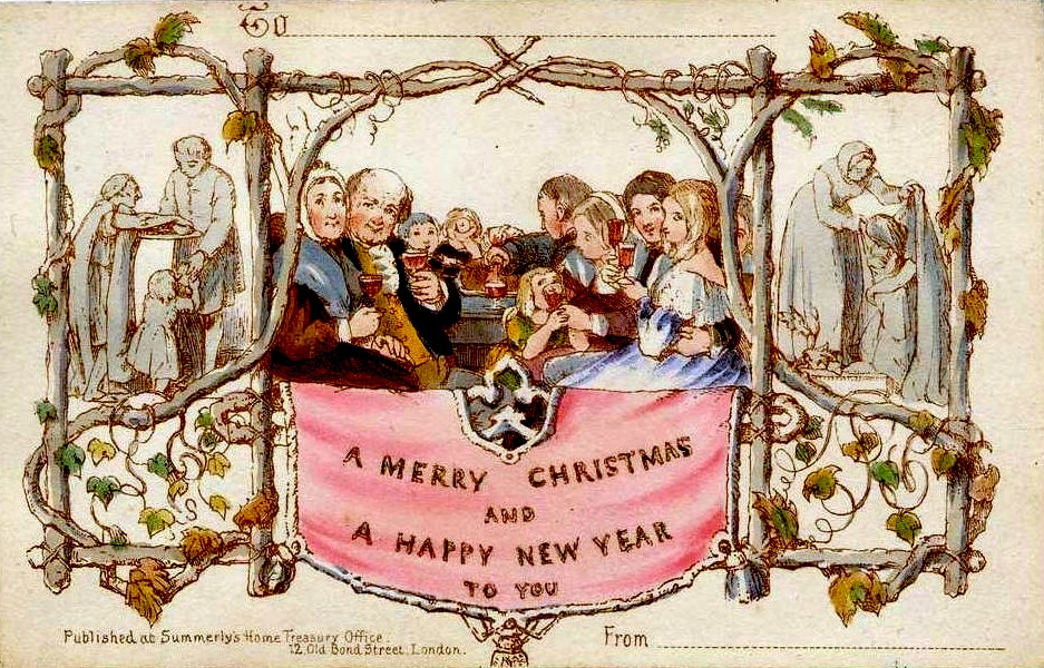 Henry Cole Christmas Card