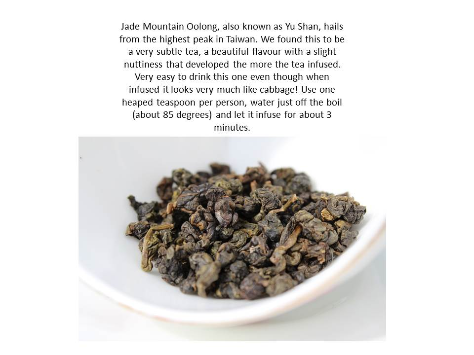 Jade Oolong tea