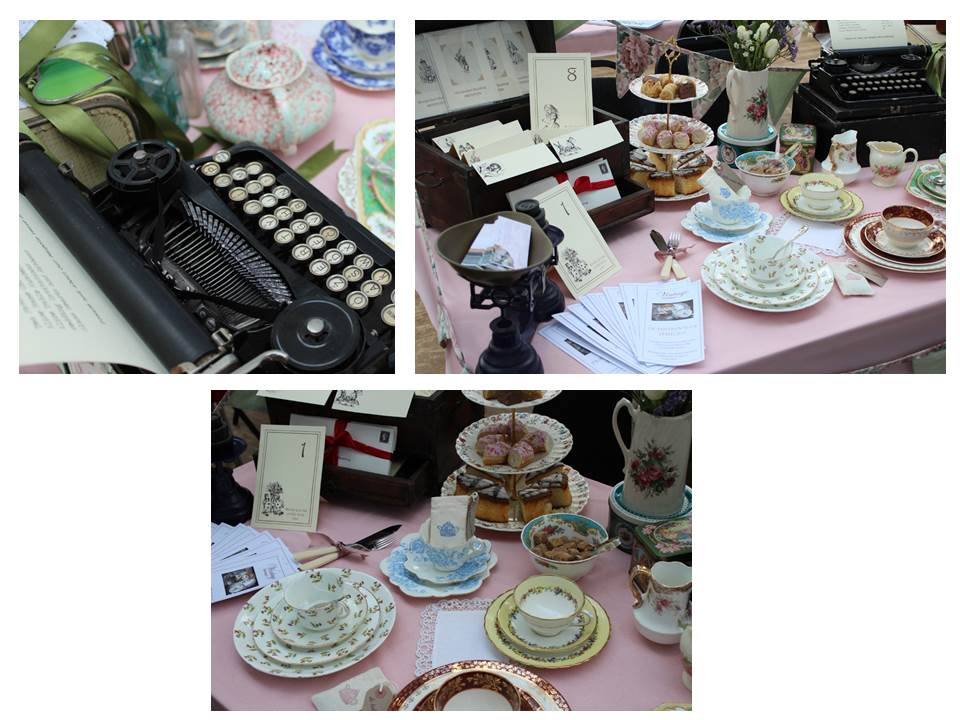 Vintage Dorset at wedding fair